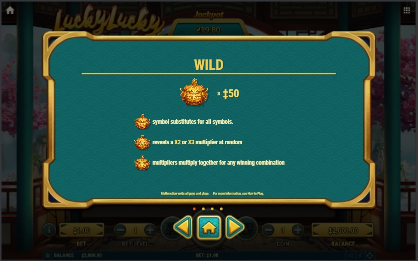 Golden pot Lucky Lucky Slot
